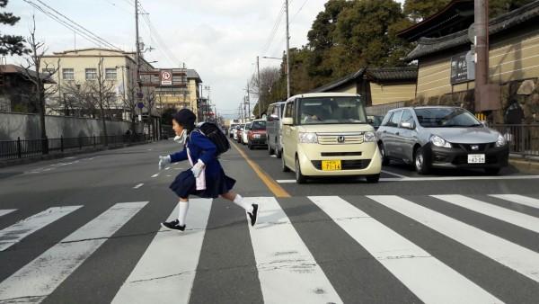 Circuit luxe sur mesure - Mon Plus Beau Voyage au Japon ecoliere Kyoto