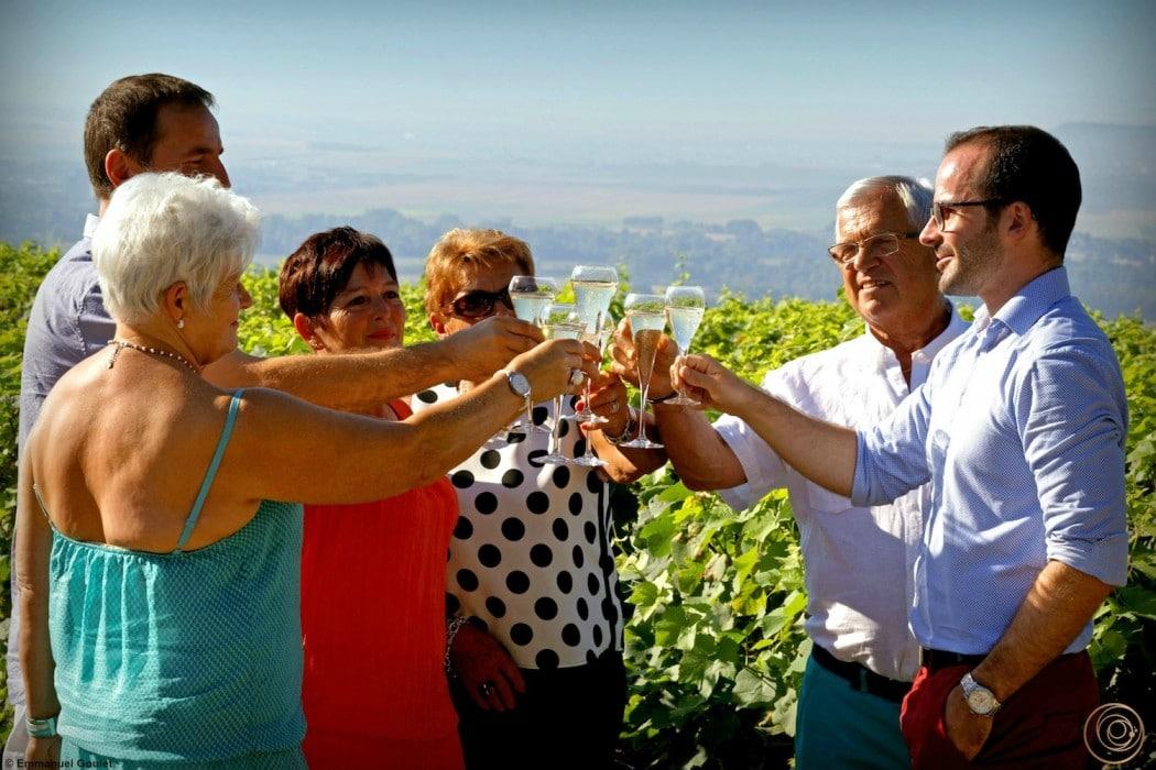 OenoSpheres - Degustations de champagne vignes