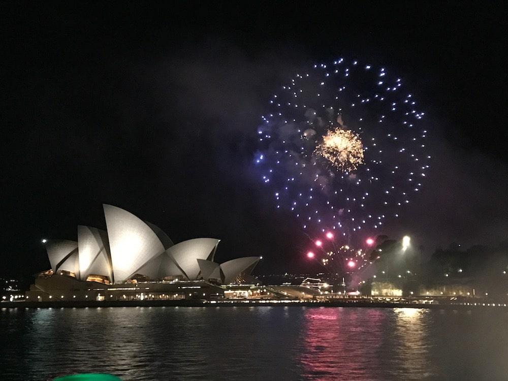 Mon Plus Beau Voyage en Australie - Sydney feux d artifices opera house