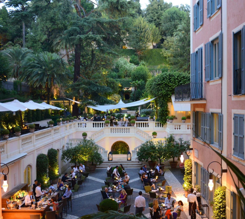 Restaurant le jardin de russie rome - Hotel de mougins restaurant le jardin ...