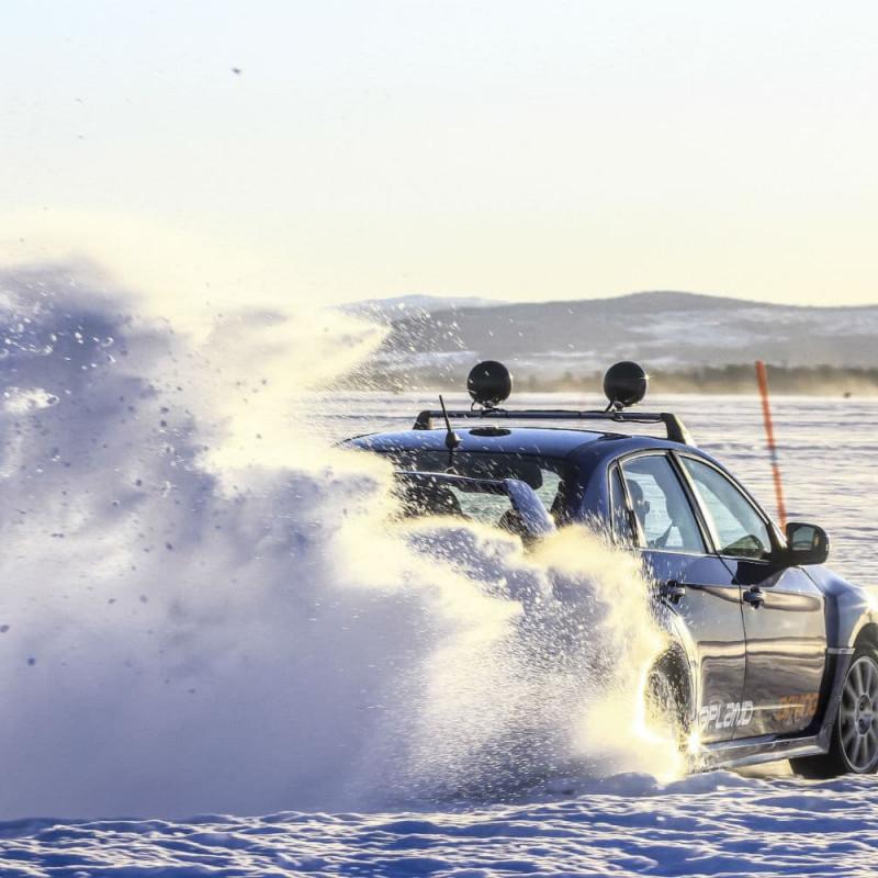 Conduite sur glace en Laponie avec Laponie Ice Driving- Arjeplog 27