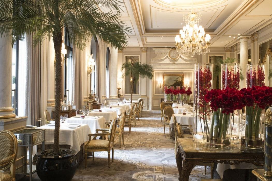 D ner gastronomique d 39 anniversaire au restaurant le cinq for Design boutique hotel salzburg