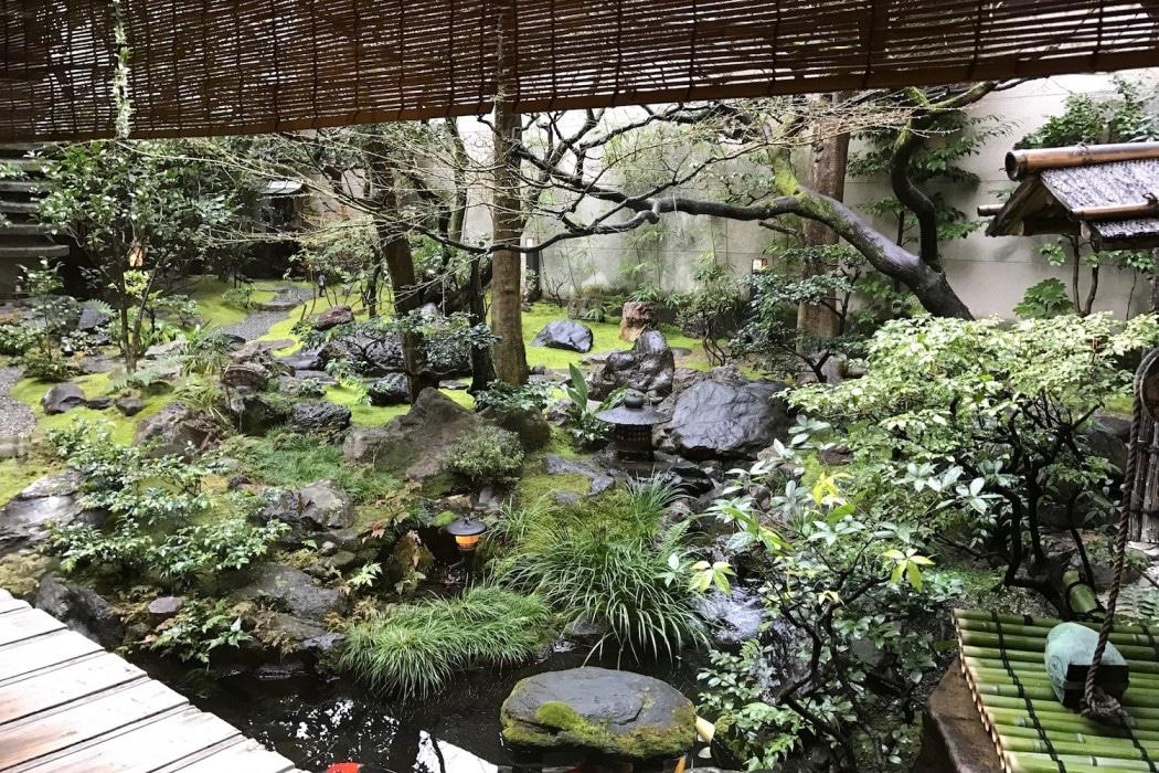 Ryokan à Kyoto.