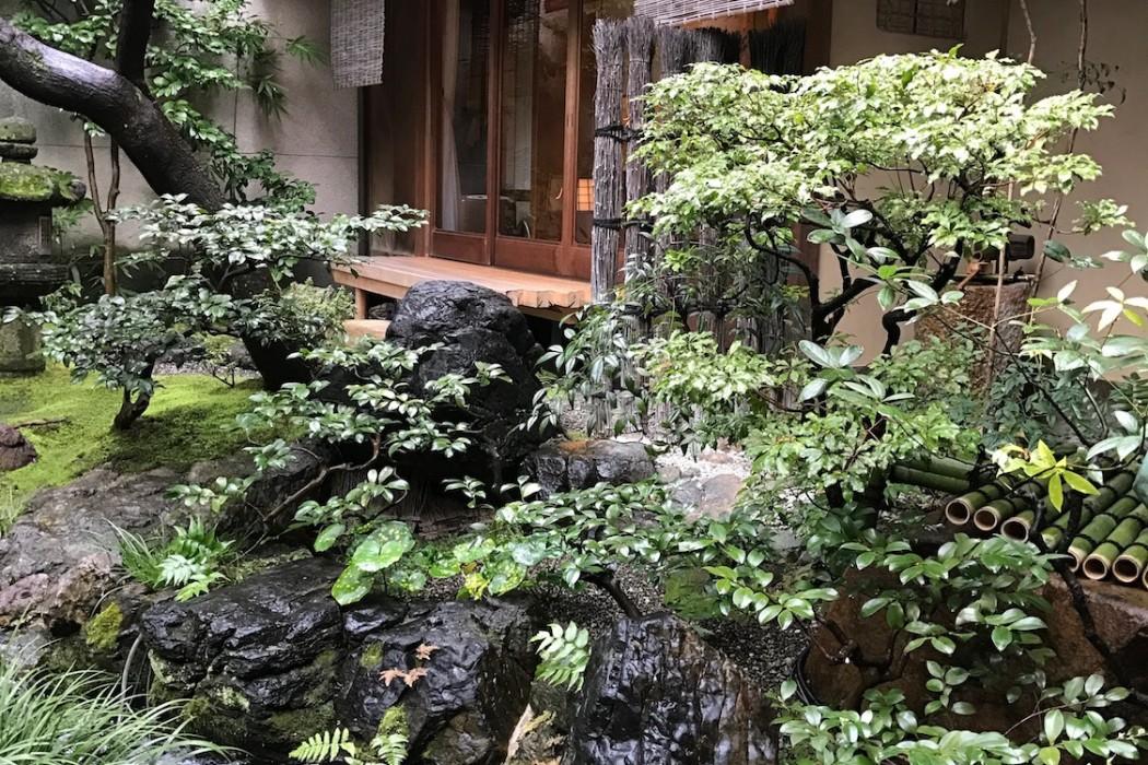 Visite privée d'un ryokan à Kyoto.
