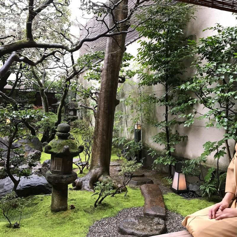 Jardin zen à Kyoto.