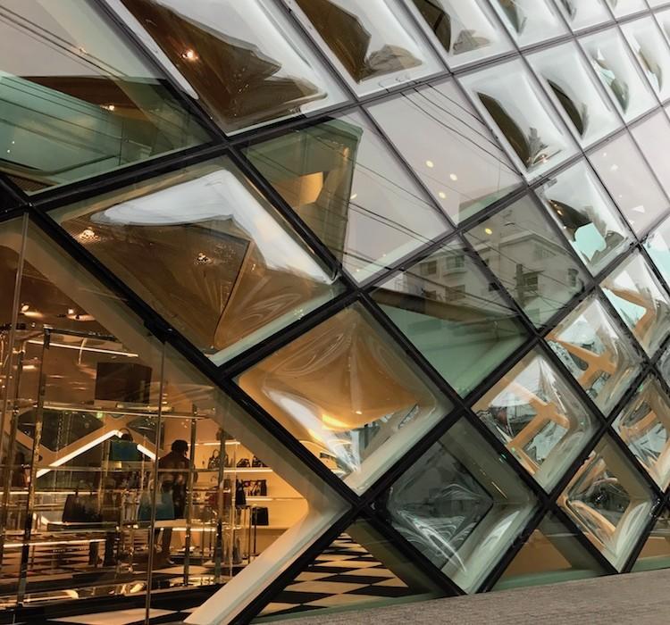 Architecture moderne au Japon.