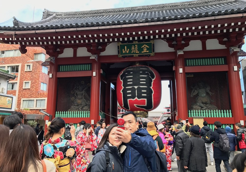 Temple au Japon.