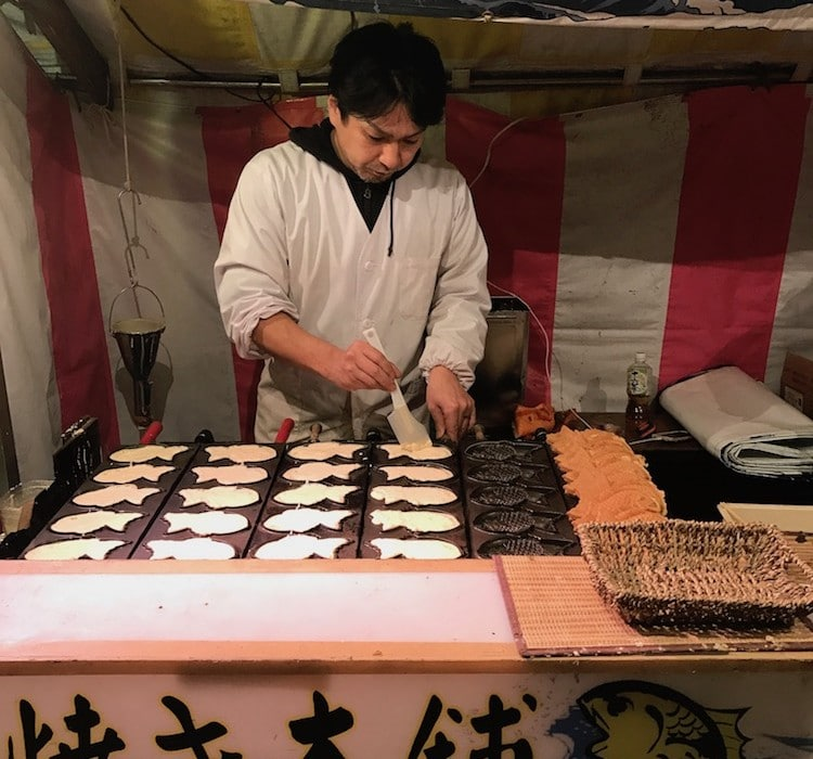 Cuisinier japonais.