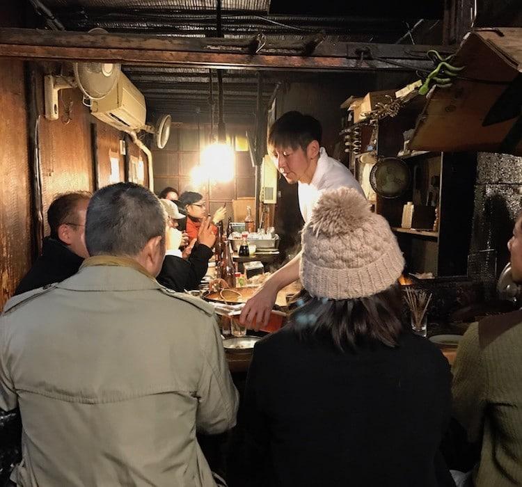 Street food à Tokyo.