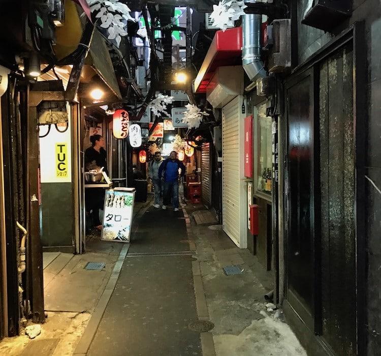 Nourriture de rue à Tokyo.