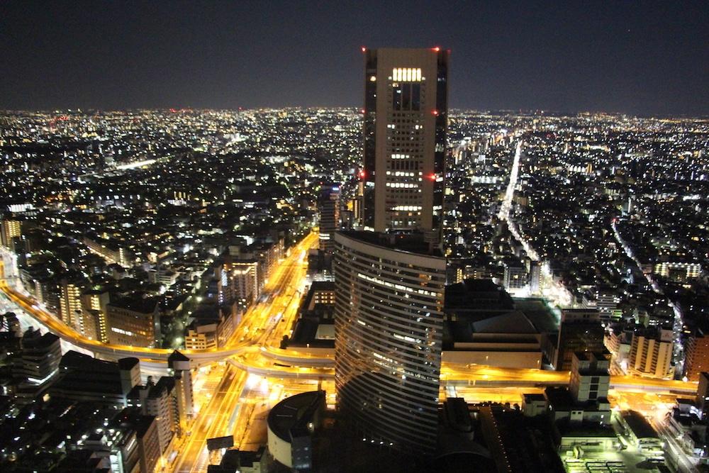 Tokyo de nuit.