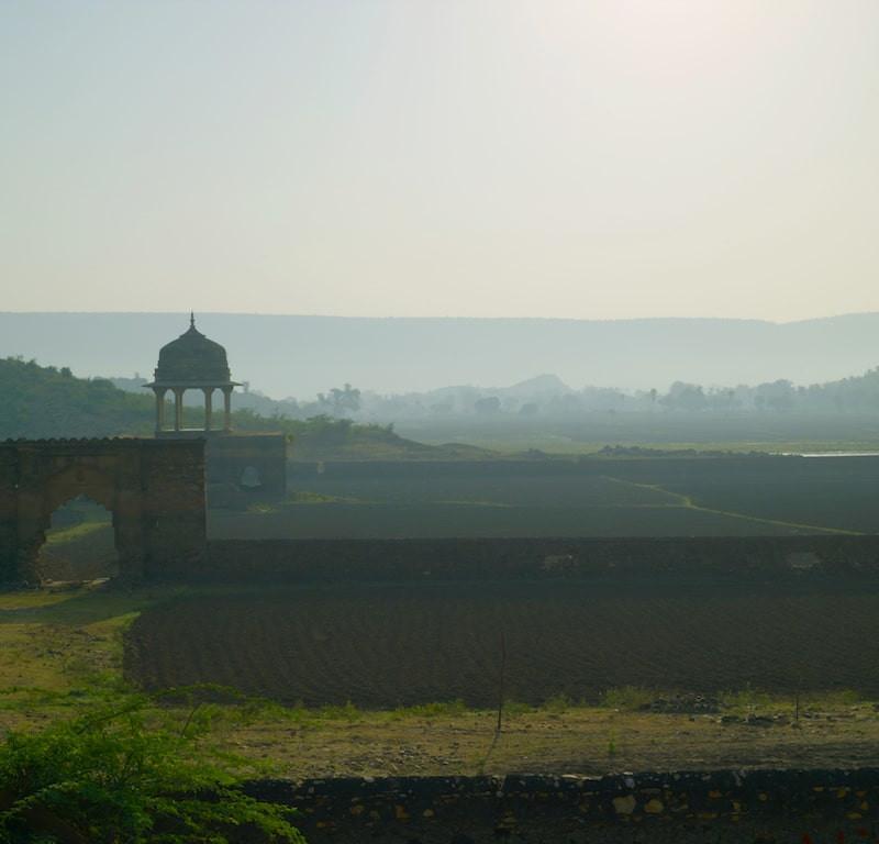 Fort d'Ajabgarh en Inde.