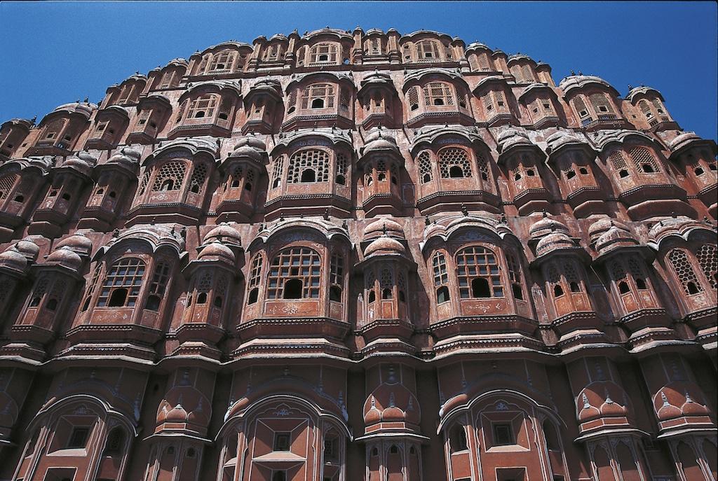 Jaipur en Inde.