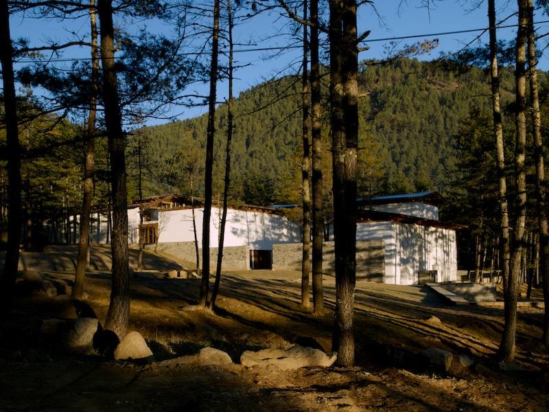 Extérieur de l'Amankora Thimphu.