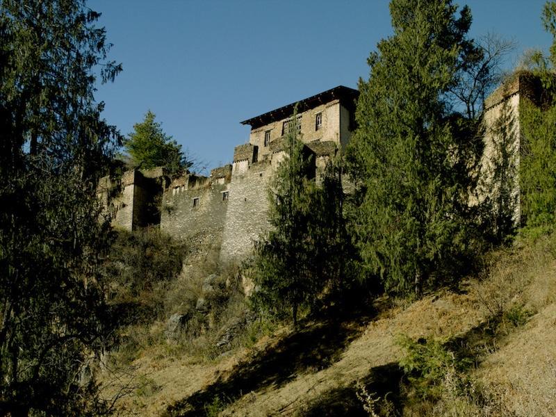 Drukgyel Dzong au Bhoutan.