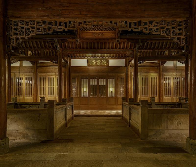 Hôtel Aman Yangyun en Chine.