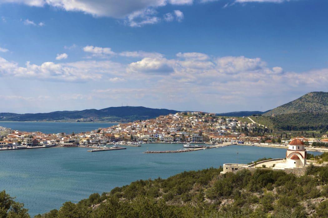Ermioni en Grèce.