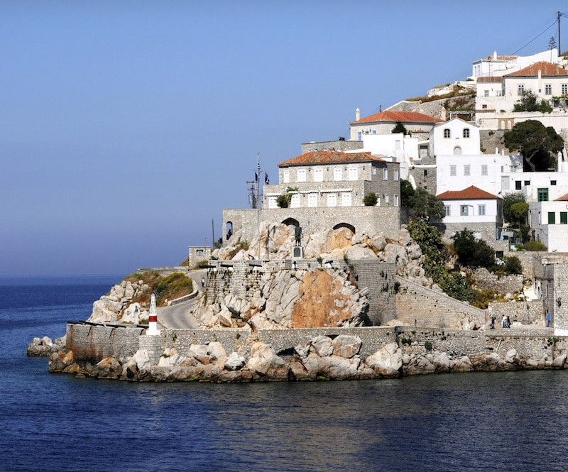 Ile Hydra en Grèce.