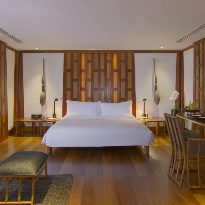 Pavillon chambre de l'Aman Puri en Thaïlande.