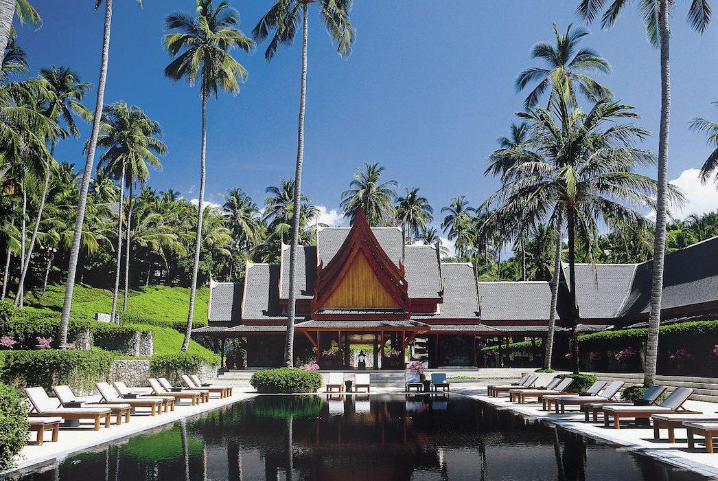 Piscine de l'Aman Puri en Thaïlande.