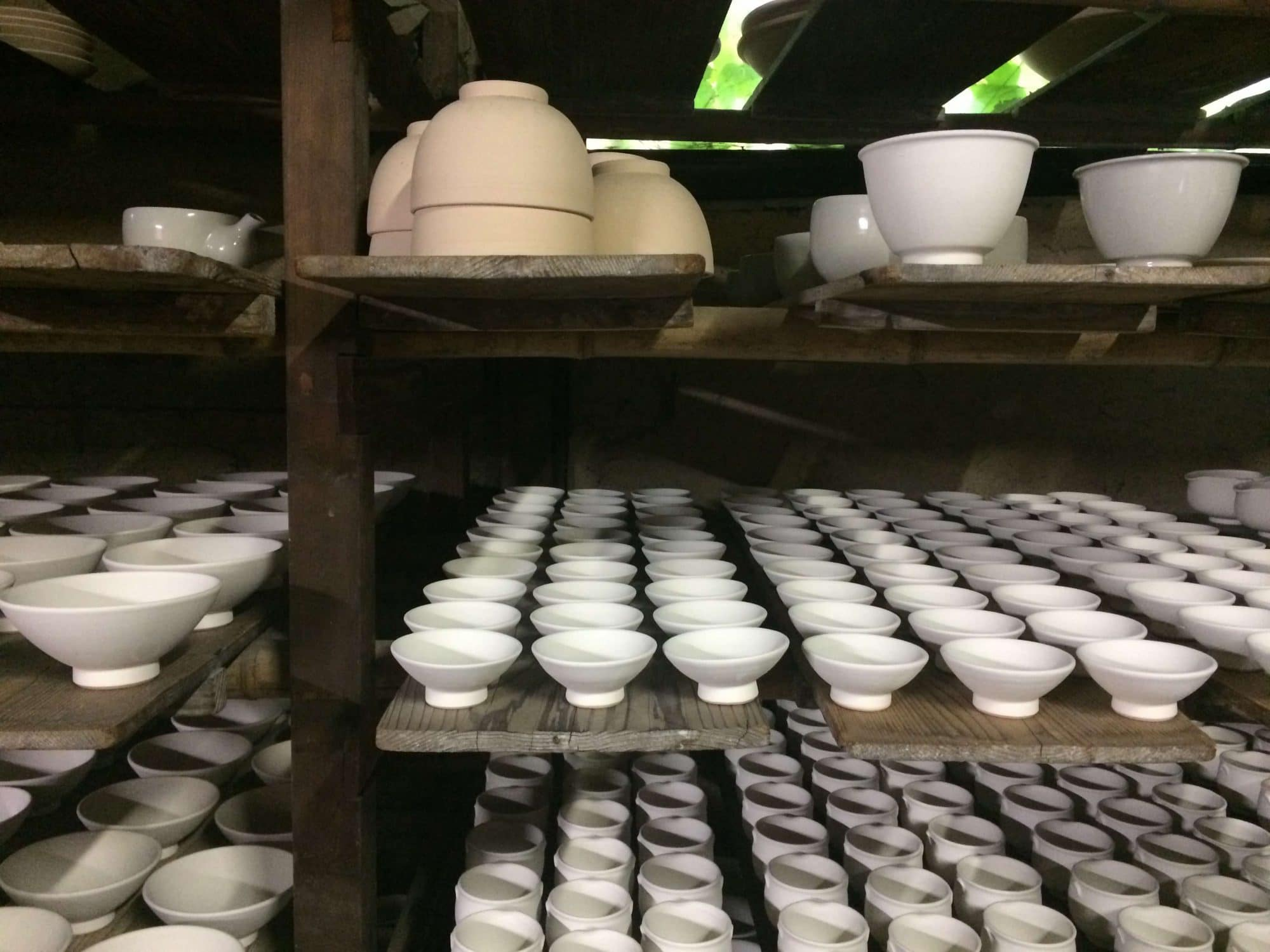 datant de céramique japonaise