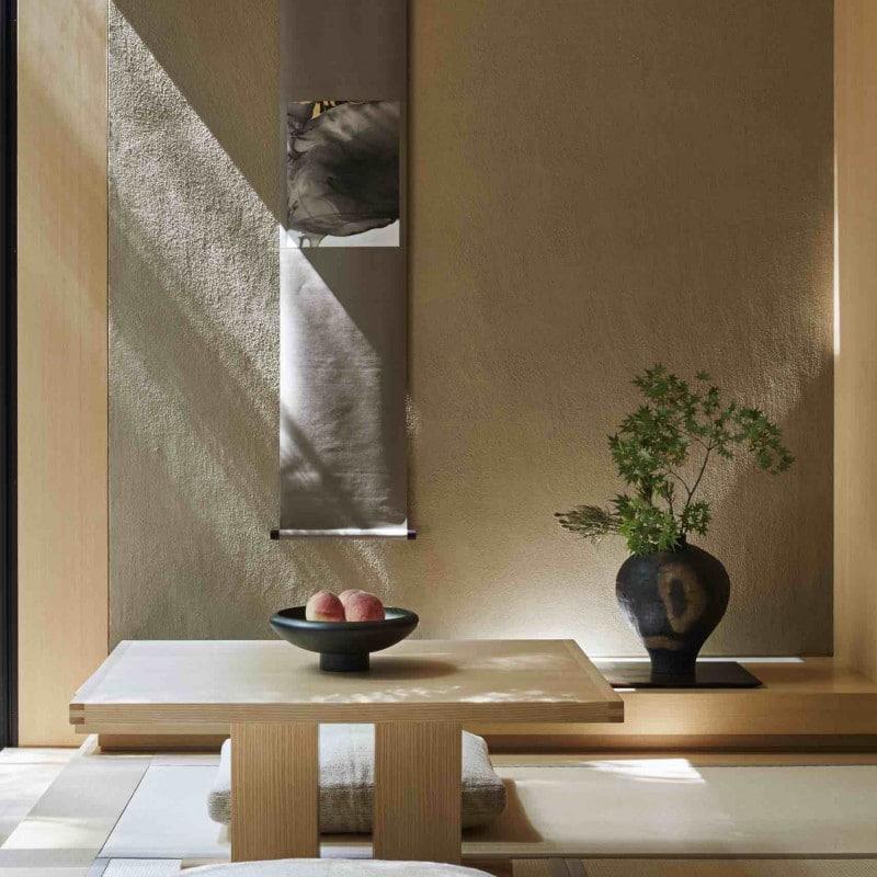 Hôtel Aman Kyoto au Japon.