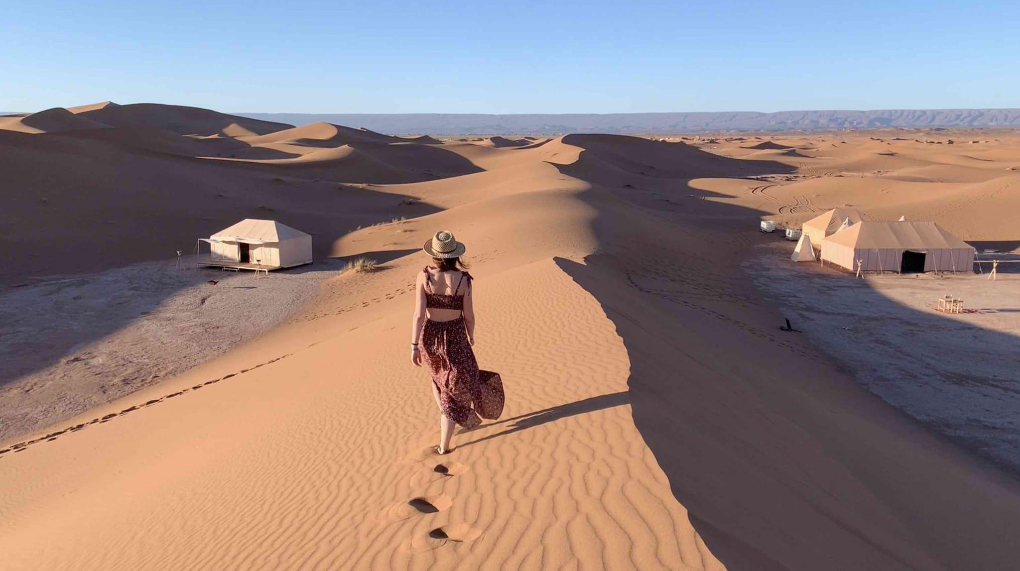 4 étapes de rêve dans le Sud Marocain